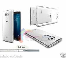 0.3MM Soft TPU GEL Rubber Ultra-thin Slim CLEAR Case Cover For LG G4 2015