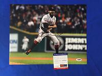 San Francisco Giants Sergio Romo Signed 11x14 Photo PSA/DNA COA World Series 1