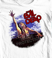 The Evil Dead T-shirt retro horror film Army of Darkness graphic tee 100% cotton