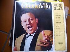 "LP 12"" CLAUDIO VILLA CANZONI CELEBRI VOL. 2 CETRA 1964 EX+"