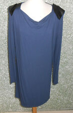 20 149/3 Yaya Collection Robe ROBE T-SHIRT gr. M BLEU NOIR CASCADE col