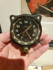 WW2 Luftwaffe Junghans Cockpit Borduhr cockpit clock