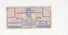 10 CENT GERMAN CONCENTRATION CAMP NOTE FROM WESTERBORK/NETHERLANDS 1944