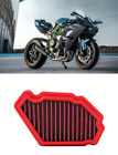 BMC FILTRO ARIA SPORTIVO RACE FILTER KAWASAKI NINJA H2 1000 Carbon Limited ed 17