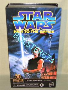 "LUKE SKYWALKER Heir to the Empire Black Series 6"" Figure Star Wars w/ Ysalamiri"
