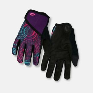 GIRO DND JR II Youth Kids Cycling Gloves Size SMALL S  4x Suede MTB/Road NEW