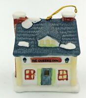 "VTG 1991 Queens Inn Reader's Digest Christmas Holiday Lighted Ornament Bell 3"""