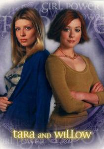 Buffy the Vampire Slayer Season 5 Girl Power Box Loader Card BL2