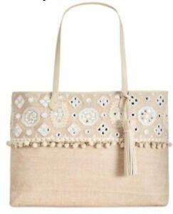 Angel Beach Extra Large Boarding Tote Natural, $148.00