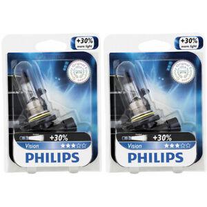 2 pc Philips 9006PRB1 Vision Headlight Bulbs for 9006XV Electrical Lighting wz