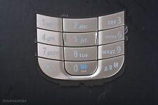 Nokia 2680s 2680 slide numero originale TASTIERA SILVER ARGENTO KEYPAD Tasti Tappetino
