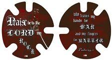 Psalm 144 Wrestling Headgear Wraps Decals stickers