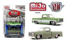 M2 MACHINES AUTO-LIFTS MIJO 2 TRUCK SET 1975 CHEVY SILVERADO SQUARE BODY PRESALE