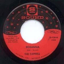 GROUP HARMONY 45 - THE CAPREEZ - ROSANNA - SOUND LABEL