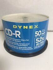 Dynex CD-R Recordable Compact Discs For Computer CD Writers(47 Qty) New