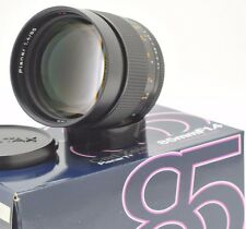 Carl Zeiss 85mm f1.4 Planar T* manual focus lens in Contax/Yashica Digital adapt