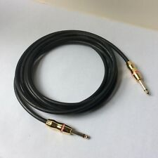 "Monster Rock Guitar Cable 12ft Professional 1/4"" Straight Gold"