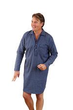 Mens Champion Brushed Cotton Striped Nightshirt Sleepwear Nightwear (M - 6XL)