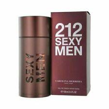 212 SEXY BY CAROLINA HERRERA 3.4 O.Z EDT SPR FOR MEN'S PERFUME* NEW SEALED BOX*