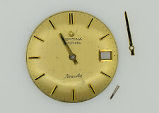 CERTINA New Art Cal. 25-651 Automatic Vintage Golden Watch Dial 29.5 mm (ZB229)