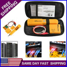Us Telephone Wire Tone Tracer Detector Rj11 Network Line Finder Cable Tester