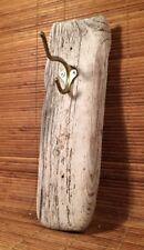 """Beautiful Pacific Ocean Rustic Driftwood Coat Towel Hook Cabin Beach Decor 11"""""""