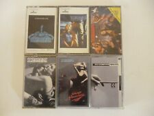 Set Of 6 Scorpions Cassette Tapes