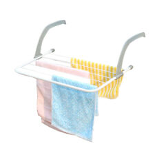 Folding Adjustable Drying Racks Balcony Shelf Multiuse Clothes Drying Hanger,
