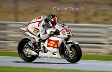 Marco Simoncelli San Carlo Honda Gresini Moto GP Quatar Test 2011 Photograph 2
