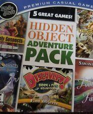 Mumbo Jumbo 5 Great Premium Casual Games Hidden Object Adventure Pack New