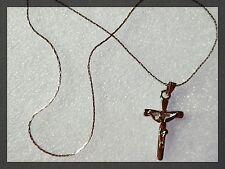 Gesù su una Croce Collana, religione, DIO, FASHION Jewellery, idea regalo, Gesù Cristo,