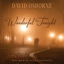 Wonderful Tonight Sentimental Piano F 0792755599020 by David Osborne CD