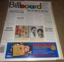 BILLBOARD MAGAZINE - 10/27/84 - CHARTS & VINTAGE ADS - PRINCE #1 - MCCARTNEY AD