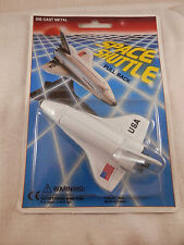 """USA Space Shuttle die cast metal pull back 4"""""""