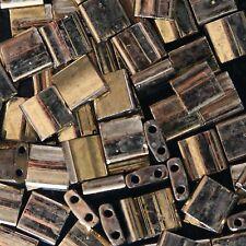 Miyuki Metallic Dark Bronze Tila Bead TL-457