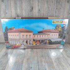FALLER 110109 - H0 - Bahnhof Bad Dürkheim - verschweist  OVP - #W37889