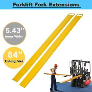 """Forklift Pallet Fork Extensions Forklifts and Loaders Truck On Clamp 84"""" x 5.8"""""""