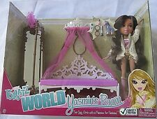 "BRATZ World Yasmin's Room With 10"" Doll and Lots of Accessories  NEW IN BOX"