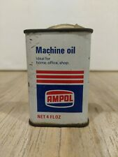 AMPOL 4 FL OZ - Machine Oil Tin