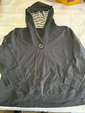 Women's Pullover Hoodie. Hooded  Sweater Black Size 22/24W  2026