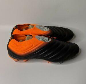 Adidas Copa 20+ FG Men's Soccer Cleats EH0876 Black/ Orange Size 10.5 New In Box