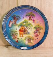Winnie The Pooh Hundred Acre Homes Happiness Plate Bradford Exchange - 3rd Issue
