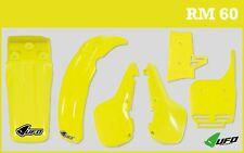 UFO Suzuki RM 60 2003 - 2004 Motocross Plastic Kit Yellow