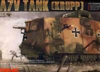 Meng German A7V Tank (Krupp) Tank 504 Schnuck 1918 Autumn 1:3 5 Model Kit Set