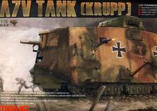 MENG Allemand A7V Citerne Réservoir de Krupp 504 Schnuck 1918 Autumn 1:35