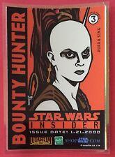 Star Wars Insider - Aurra Sing Laminated Collector Card - Bounty Hunter - RARE