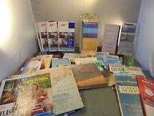 Lot of 55 Travel Brochures Maps United States Virginia Florida Carolinas Ca Co