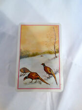 Vintage Pheasants Playing Cards!