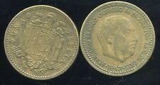 ESPAGNE  1 pesetas 1947       (54)