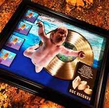 Kurt Cobain Nirvana Nevermind Platinum Record Disc Album Music Award Mtv Riaa